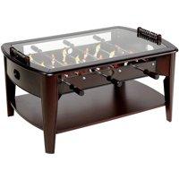 Deals on Barrington 42 Inch Wooden Foosball Coffee Table