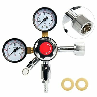 Co2 Regulator Dual Gauge Heavy Duty Pro Series Draft Beer Homebrew Kegerator NEW