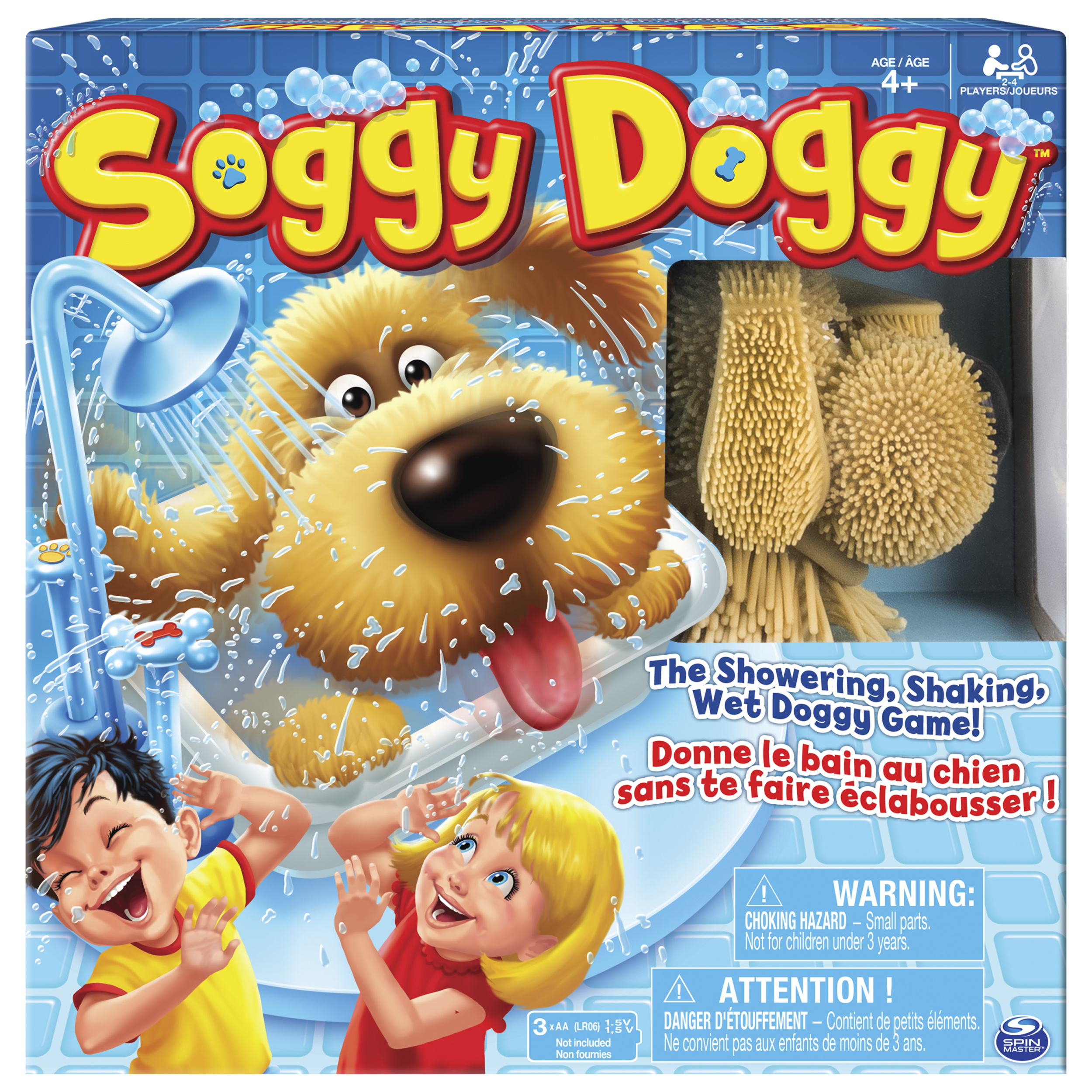 Soggy Doggy Board Game for Kids with Interactive Dog Toy by SPIN MASTER TOYS FAR EAST LIMITED