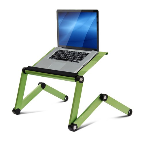 Wildon Home  Vented Laptop Table / Portable Bed Tray Book Stand