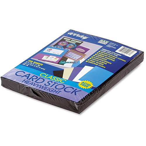 Pacon Array Card Stock, Heavyweight, Letter, 100 Sheets/Pack