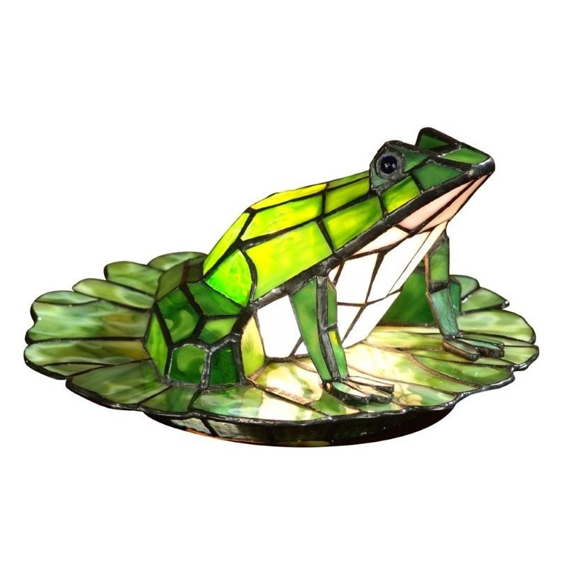 Dale Tiffany Tiffany Frog Lily Pad Accent Lamp