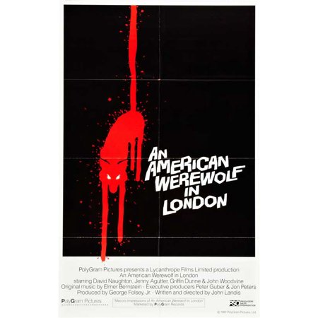An American Werewolf in London (1981) 11x17 Movie