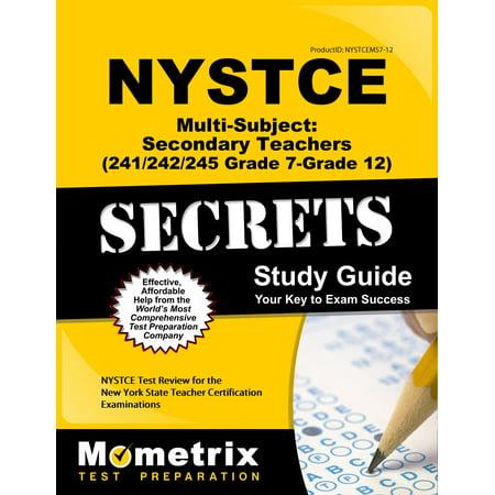 NYSTCE Multi-Subject: Secondary Teachers (241/242/245 Grade 7-Grade ...