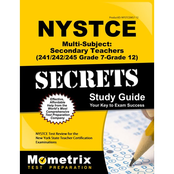 Nystce Multi Subject Secondary Teachers 241242245 Grade 7 Grade
