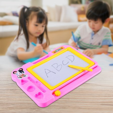 VBESTLIFE Drawing Board, Kids Drawing Board,Kids Children Magnetic Drawing Board with Painting Pen Writing Sketch Educational Preschool Toy