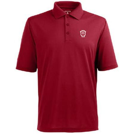 Mens Pique Shirt (Indiana Mens Pique Xtra Lite Polo Shirt (Color: Red))