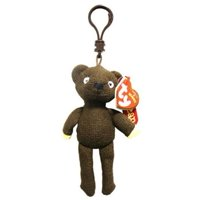 Product Image TY Beanie Baby - MR. BEAN S TEDDY BEAR (Plastic Key Clip - UK  Exclusive 19a00f4e16c4