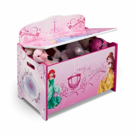Disney Princess Deluxe Toy Box Walmart Com