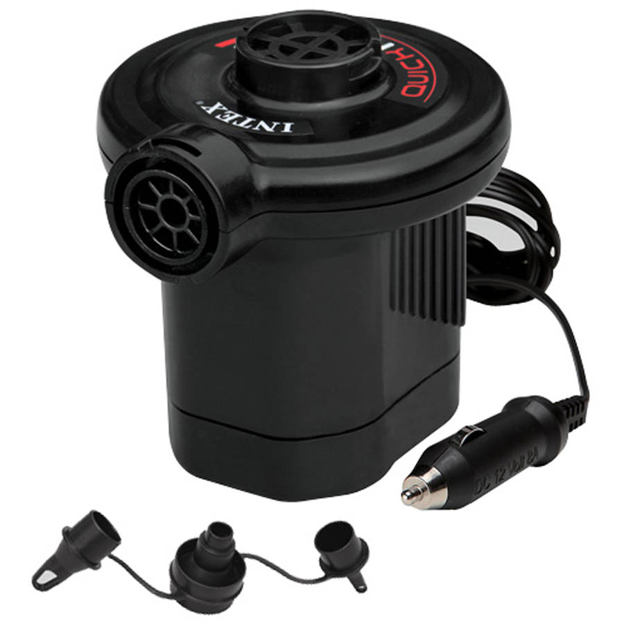 Intex 12V Quick-Fill DC Electric Pump, 21.2CFM Max. Air Flow