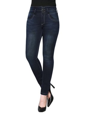 1ba035bb2857 Product Image Women s Washed Denim High-Waisted Skinny Jeans
