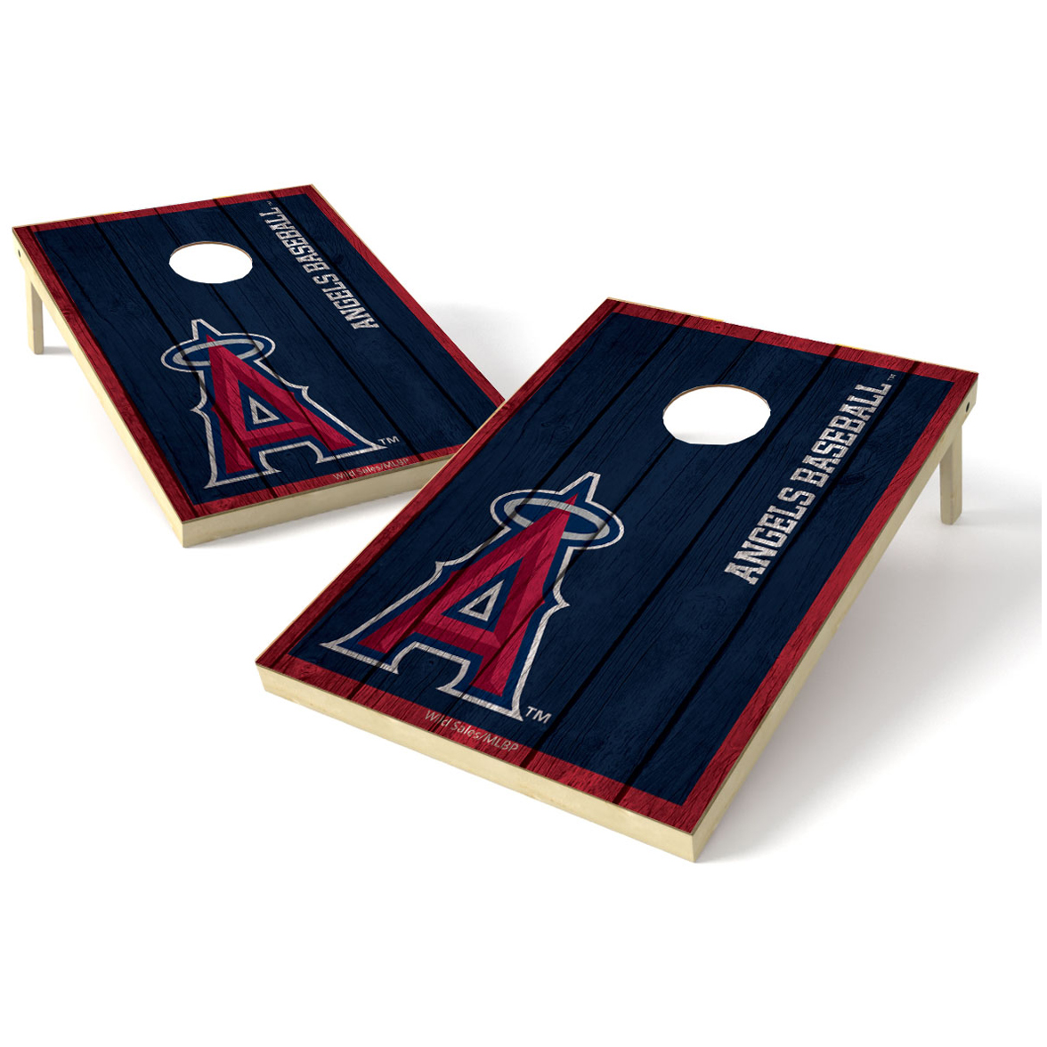 2X3 Shield Game MLB Big Vintage Los Angeles Angels of Anaheim