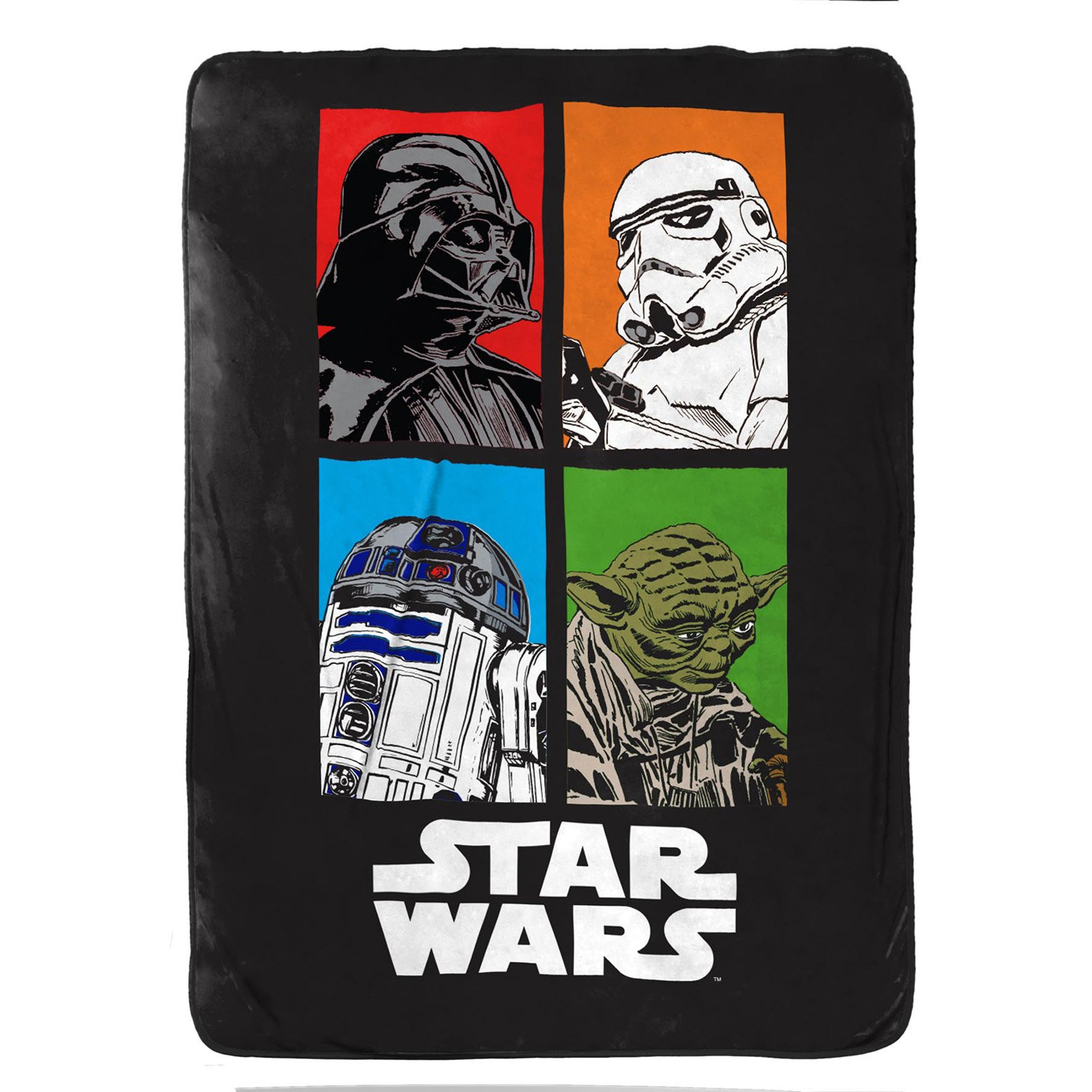 Star Wars Classic Twin Blanket, 1 Each