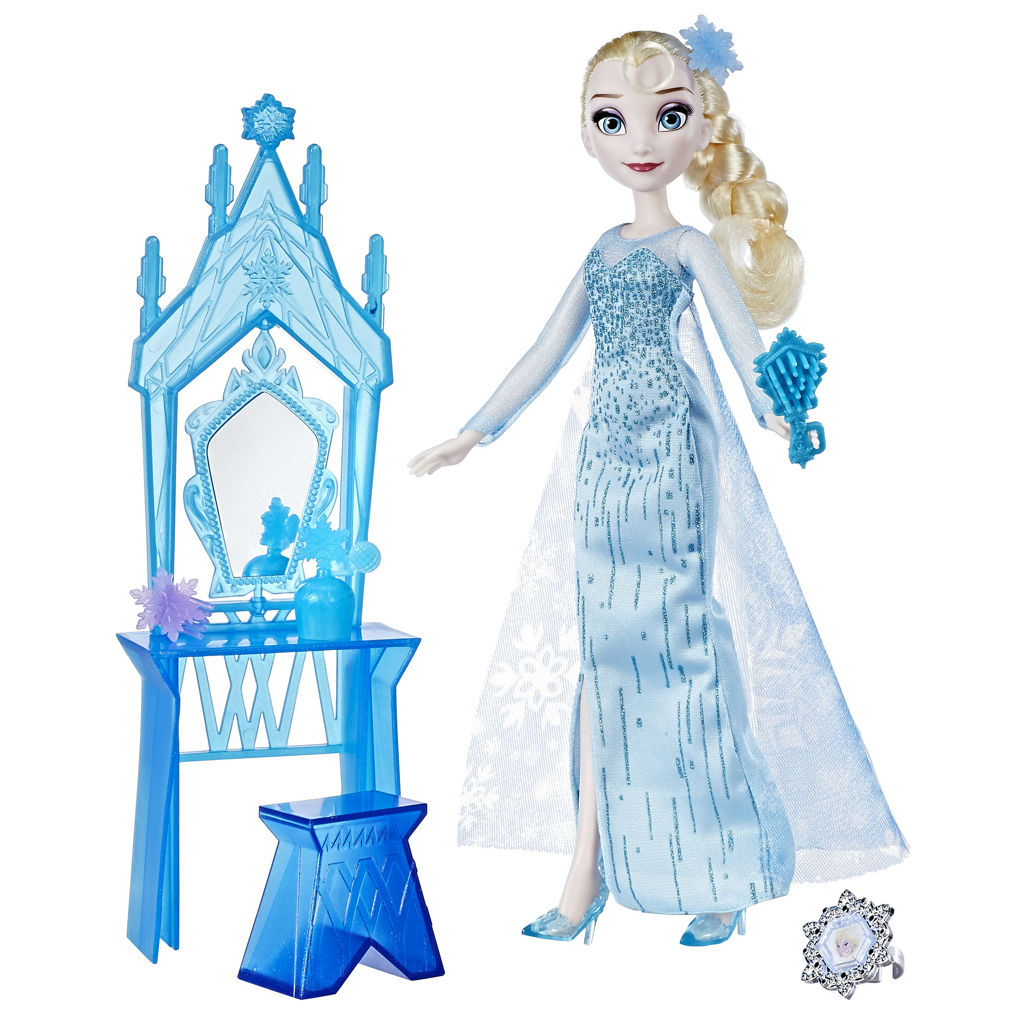 Disney Frozen Elsa and Coronation Vanity