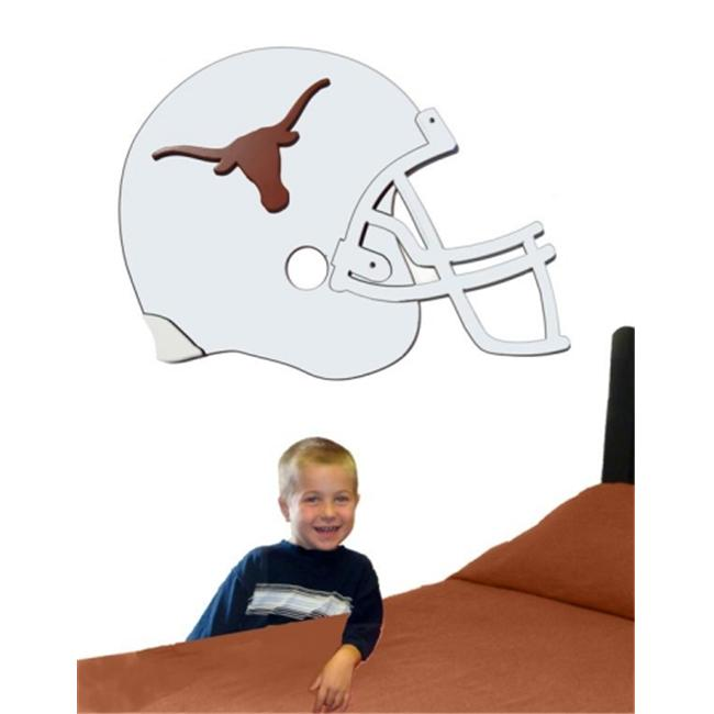 Adventure Furniture C0516-Texas University of Texas 3D Football Helmet Art- no stickers