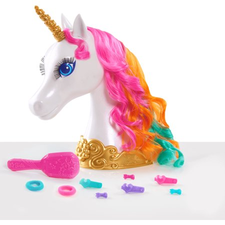 Barbie Dreamtopia Unicorn Styling Head - Barbie Head Costume