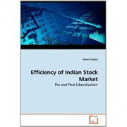 Efficiency of Indian Stock Market