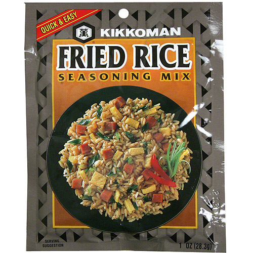 Kikkoman Fried Rice Seasoning Mix, 1 oz (Pack of 24)