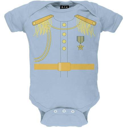 Halloween Prince Charming Light Blue Baby One Piece - Fresh Prince Halloween Song