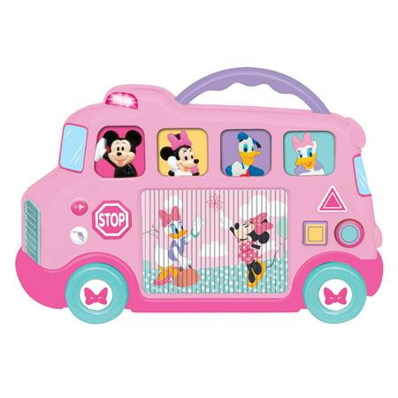 Kiddieland Disney Minnie Mouse & Friends Interactive School Bus
