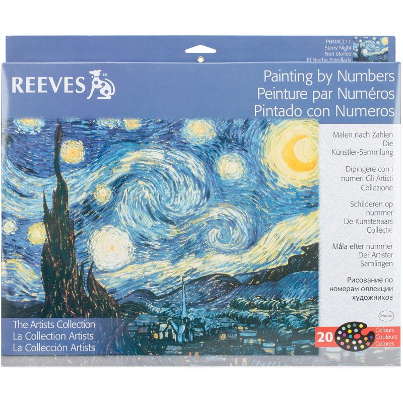 Reeves Paint-By-Number Artist's Collection, Starry Night