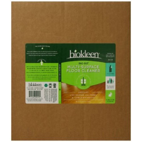 Biokleen Floor Cleaner - Multi-Surface - Case of 6 - 32 Fl oz.