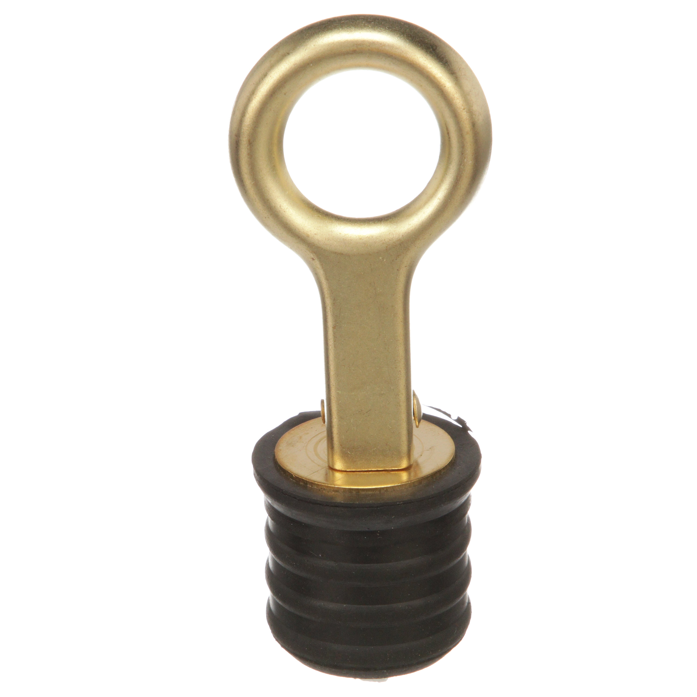 Sea-Dog 1-1//4 Brass Snap Handle Drain Plug