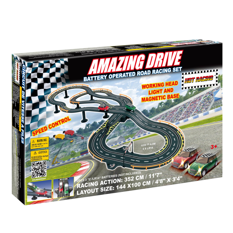 B/O Amazing Drive Road Race Set-AMG