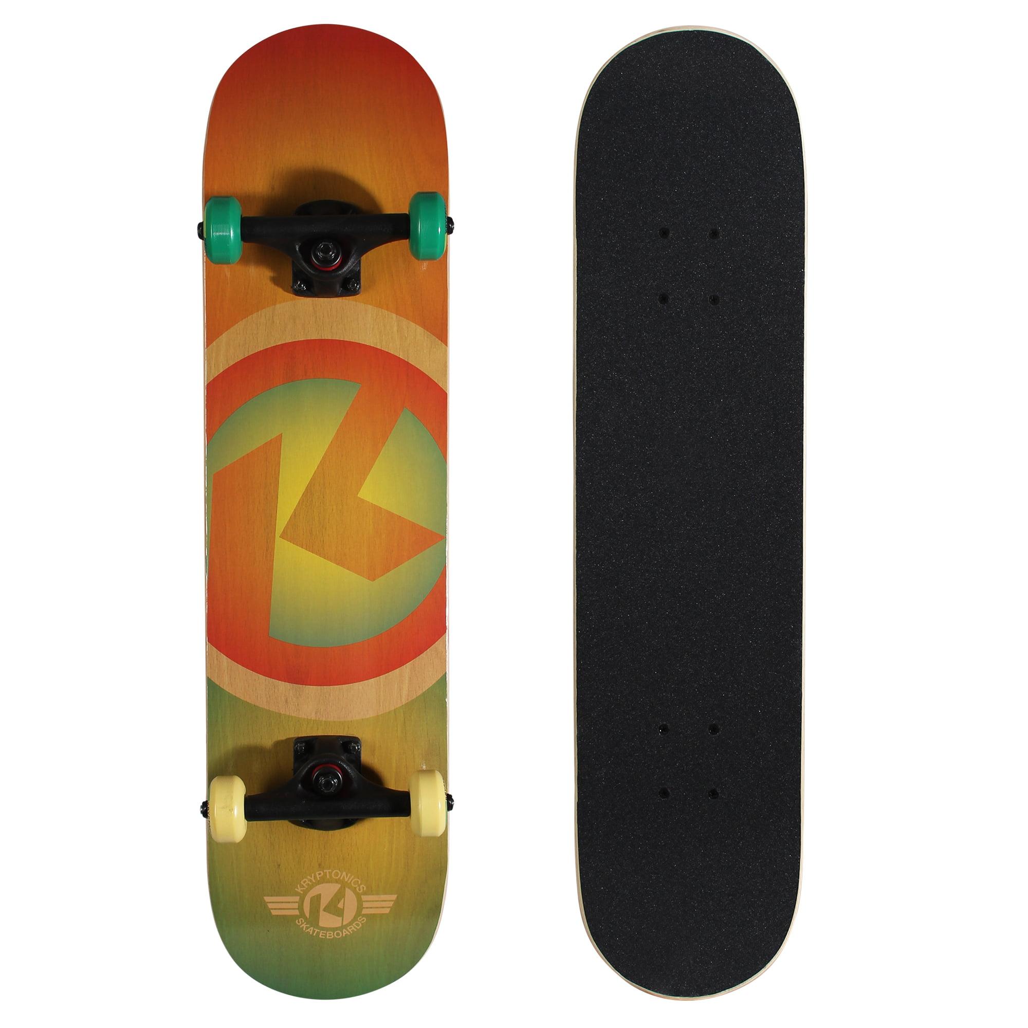 "Kryptonics Recruit Complete Skateboard (31"" x 7.5"")"