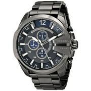 Diesel  Men's Mega Chief DZ4329 Gunmetal Stainless Steel Quartz Watch