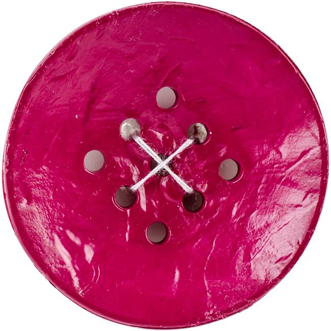 Black 9 Hole Large Buttons - 1.75 in.