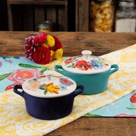8 Casserole Dish (The Pioneer Woman Celia Mini Casseroles, Set of)