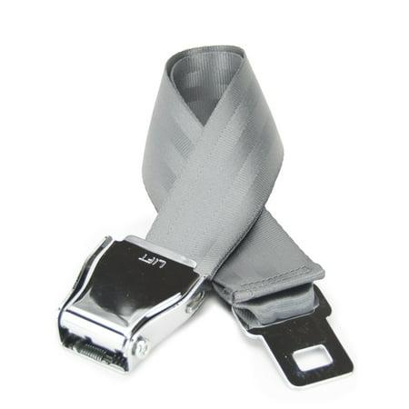 - Airplane Buckle Belt - Hip, comfortable and durable (XXL/XXXL, Cement)