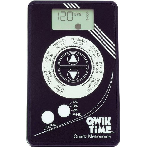 Qwik Time QT5 Quartz Metronome by Qwik Tune