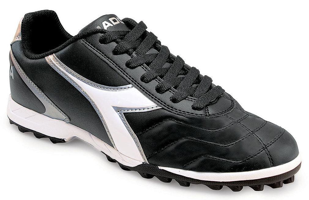 Diadora Men's CAPITANO LT TF Black Sneakers 7 M