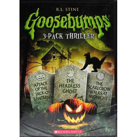 Attack Jack (Goosebumps: Attack Of Jack O'Lanterns / Scarecrow Walks / Headless Ghost)