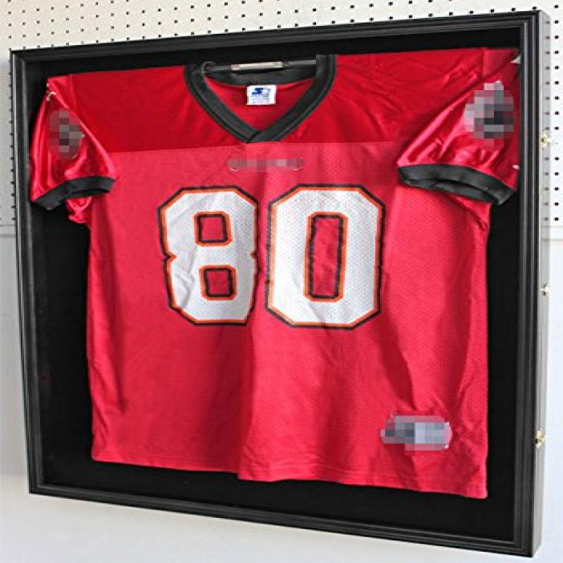 Xx Large Pro Football Hockey Uniform Jersey Display Case Shadow Box