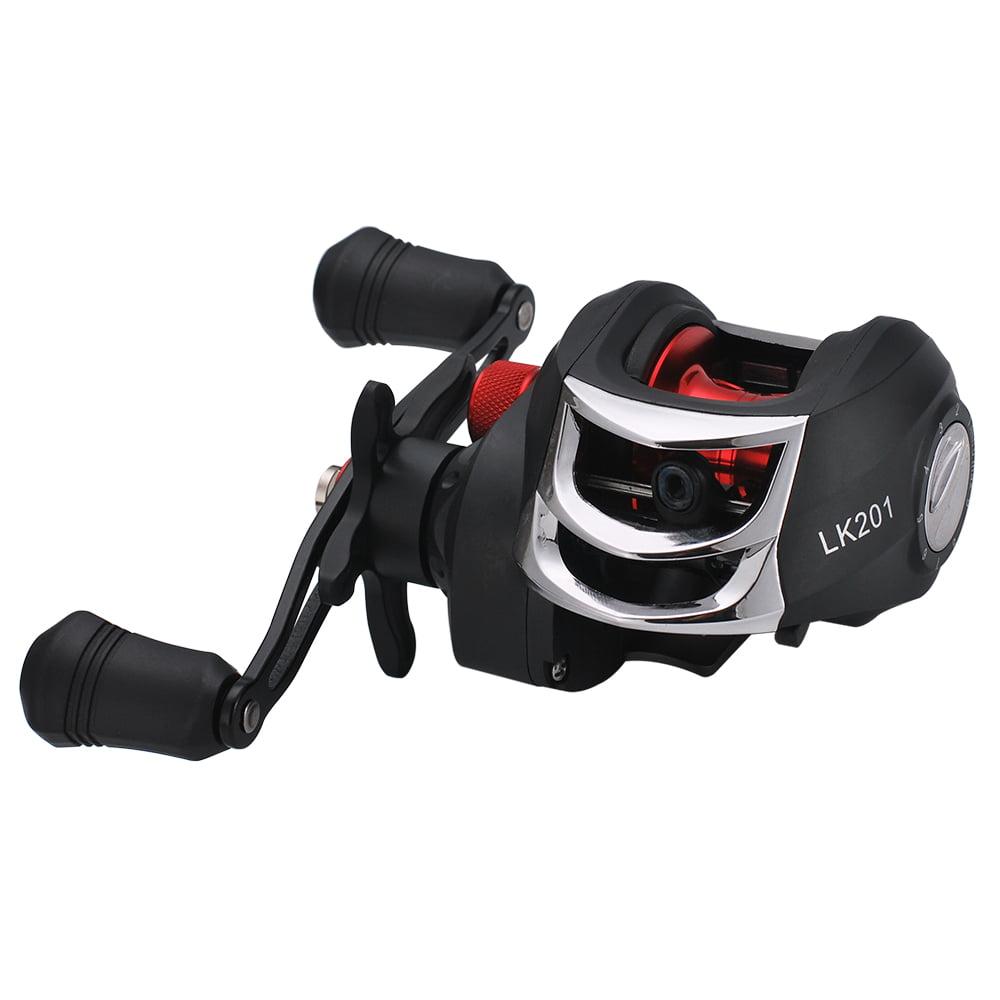 High Speed Bait Casting Fishing Reel 20 Ball Bearings 7:1:1 Lure Wheel Stainless