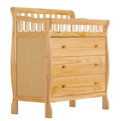Dream on Me Marcus Changing Table and Dresser, Storm Gray by Dream On Me