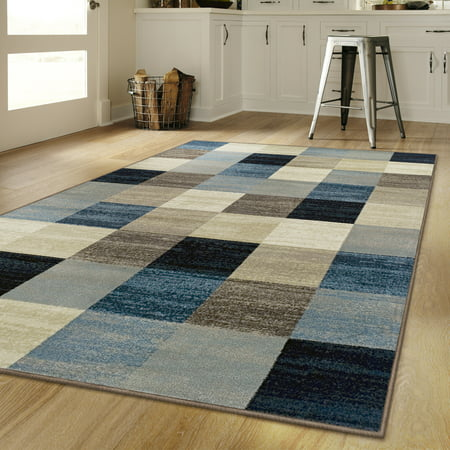 - Superior's 10mm Pile Height with Jute Backing, Durable, Fashionable and Easy Maintenance, Rockaway Collection Area Rug, 2'7