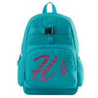Personalized Glitter Name & Initial Aqua Backpack - Pink Personalized Glitter
