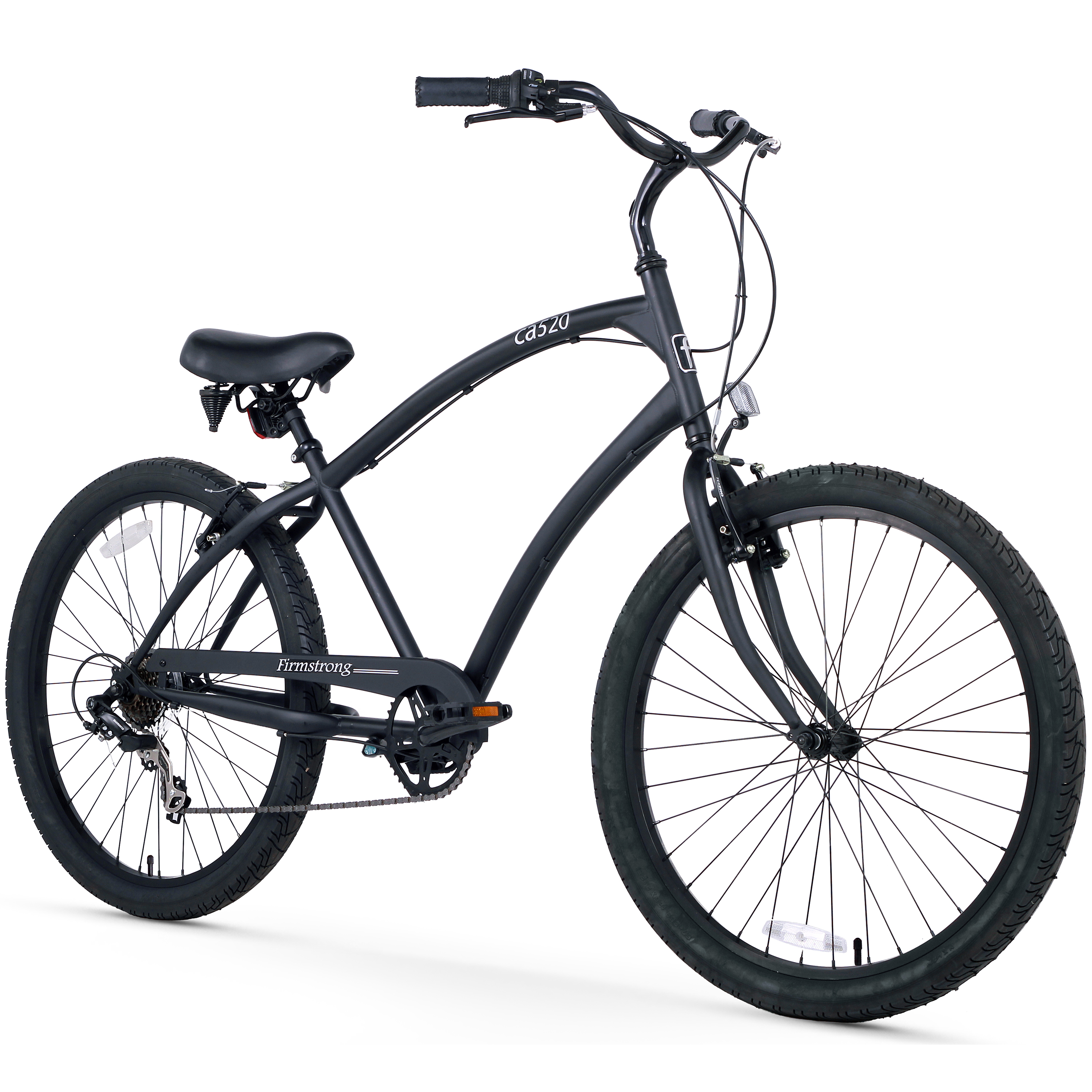 """Firmstrong 26"""" Men's CA-520 Alloy Beach Cruiser Bicycle, 3 and 7 Speed"""