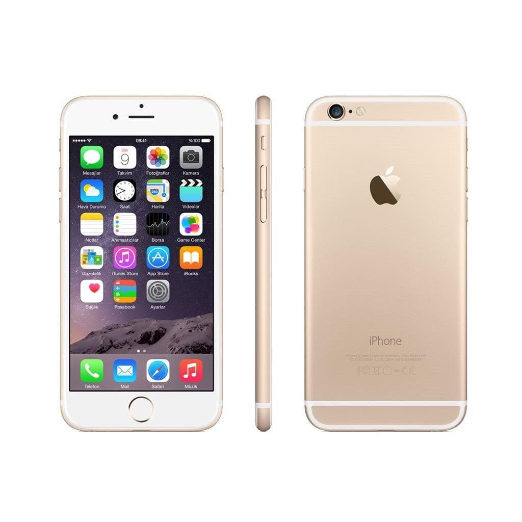 Refurbished Apple iPhone 6 16GB, Gold - Unlocked GSM/CDMA