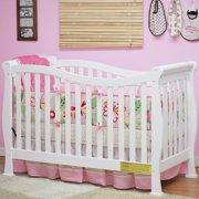 AFG Baby Furniture Nadia 3-in-1 Convertible Crib White