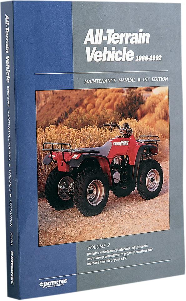 Clymer All-Terrain Vehicle Maintenance Manual 1988-1992