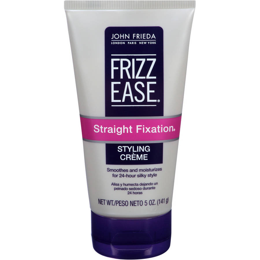 John Frieda Frizz-Ease Straight Fixation Smoothing Creme, 5 oz