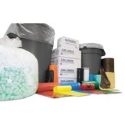 Integrated Bagging Systems WSL4046XPK Institutional Low-density Can Liners, 40-45 Gal, .90 Mil, 40 X 46, Black, 100/ct