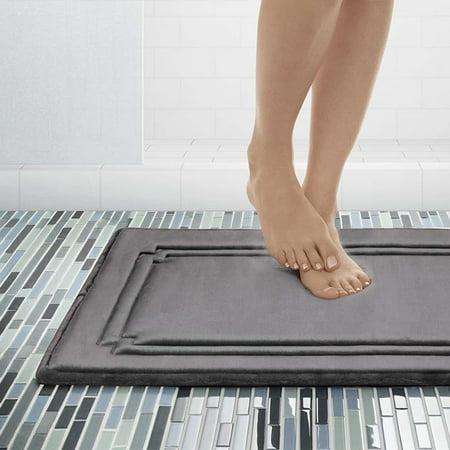 Cushioned Bath Mat (Better Homes & Gardens Thick & Plush CharActiv Memory Foam Bath Mat )