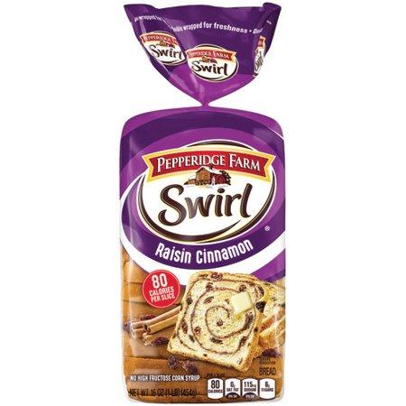 Pepperidge Farm Swirl Raisin Cinnamon Breakfast Bread, 16 oz. Loaf
