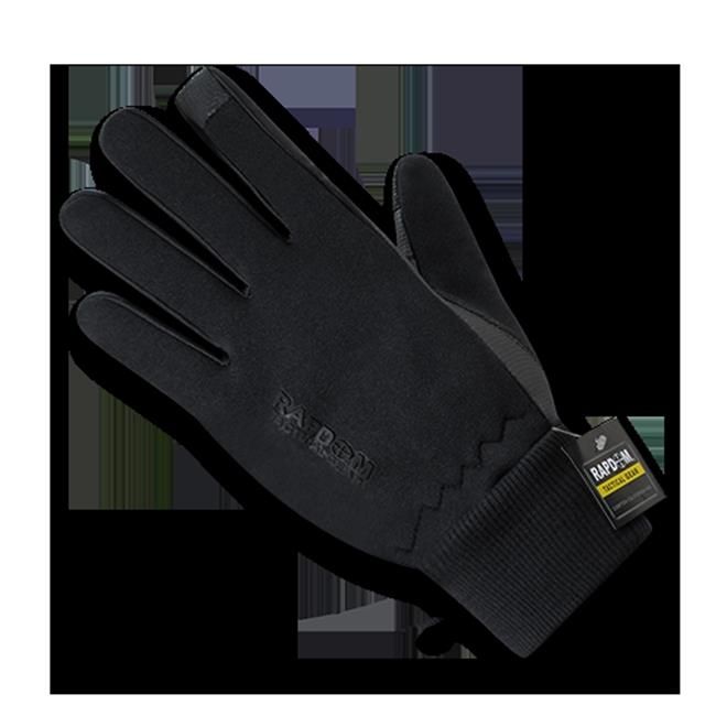 Rapid Dominance T45-PL-BLK-01 Neoprene Gloves with Cuff, Black Small by Rapid Dominance